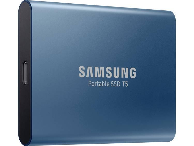 Samsung T5 500 GB Externe SSD harde schijf USB-C USB 3.1 Ocean Blue