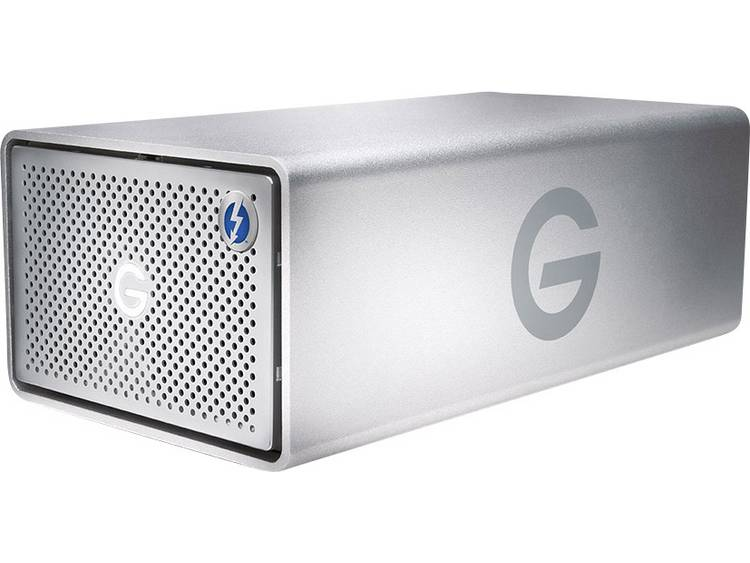 G-Technology G-Raid Removable 20 TB Extern multi-disk systeem USB 3.0, Thunderbolt 2 Zilver