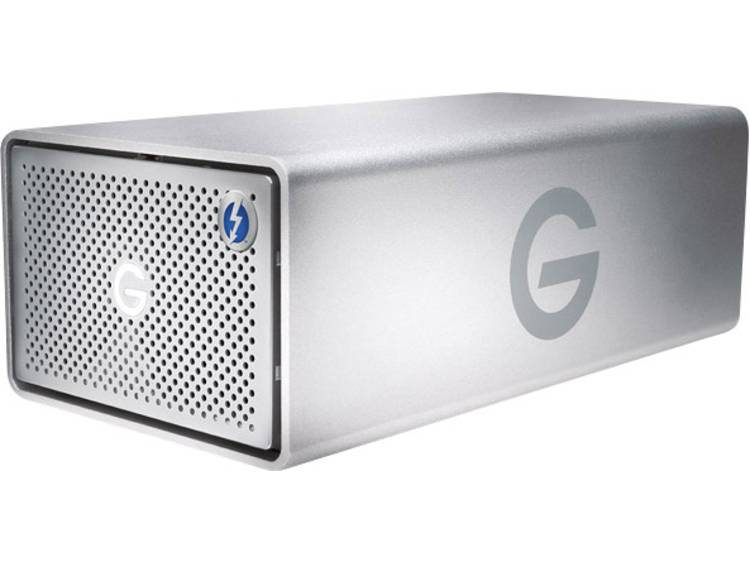 G-Technology G-Raid Removable 8 TB Extern multi-disk systeem Thunderbolt 3, USB-C USB 3.1, HDMI Zilver