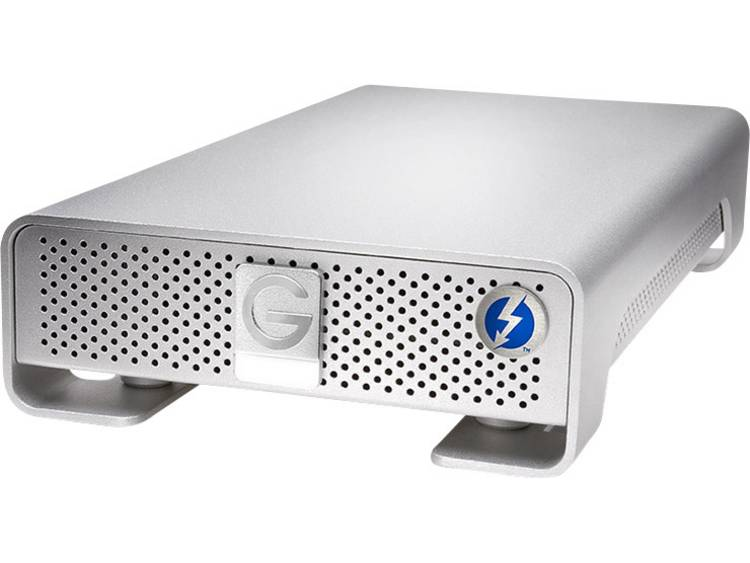G-Technology G-Drive Thunderbolt 6 TB Externe harde schijf (3.5 inch) Thunderbolt, USB 3.0 Zilver