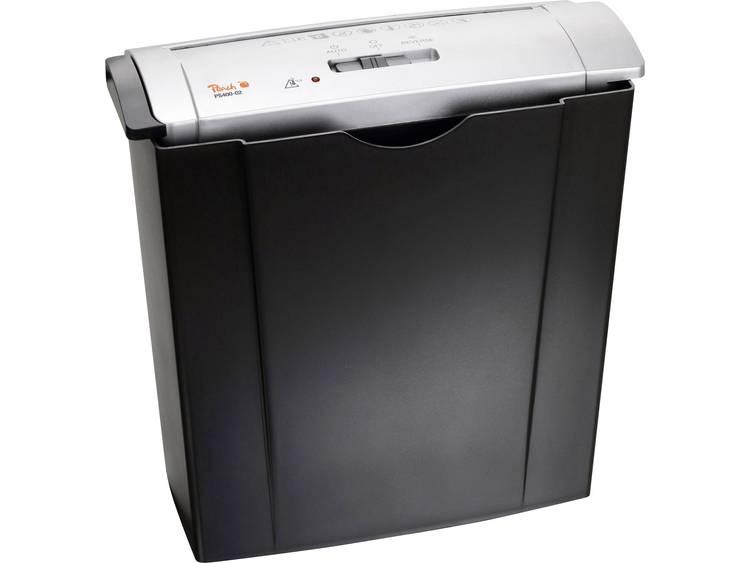 Papierversnipperaar Peach PS400-02 Strip cut 7 mm 8 l Aantal bladen (max.): 6 Veiligheidsniveau 1 Ook geschikt voor Creditcards