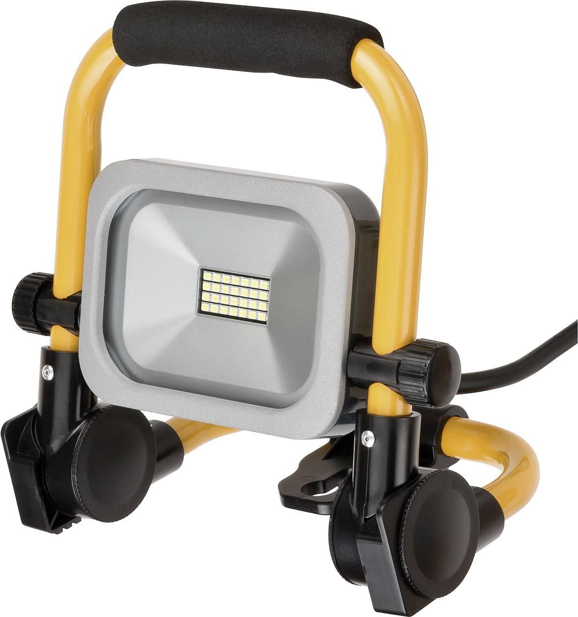 BrennenstuhlBouwplaatsen verlichting 1172900102 Zwart-geel LED vast ...