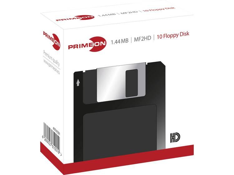 Primeon 1.44 MB 3.5 diskette 10 stuks