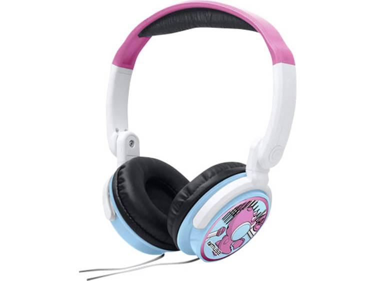 Muse M-180 KDG Kinder Koptelefoon Over Ear Vouwbaar, Volumebegrenzing Roze