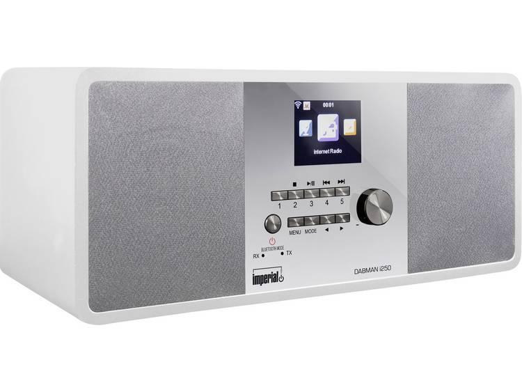 Imperial DABMAN i250 Tafelradio met internetradio DAB+, FM AUX, Bluetooth, USB,