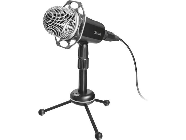 PC-microfoon Trust Radi Zwart Kabelgebonden Voet