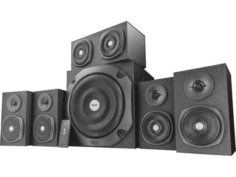 Trust Vigor 5.1 PC-luidsprekers Kabelgebonden 75 W Zwart
