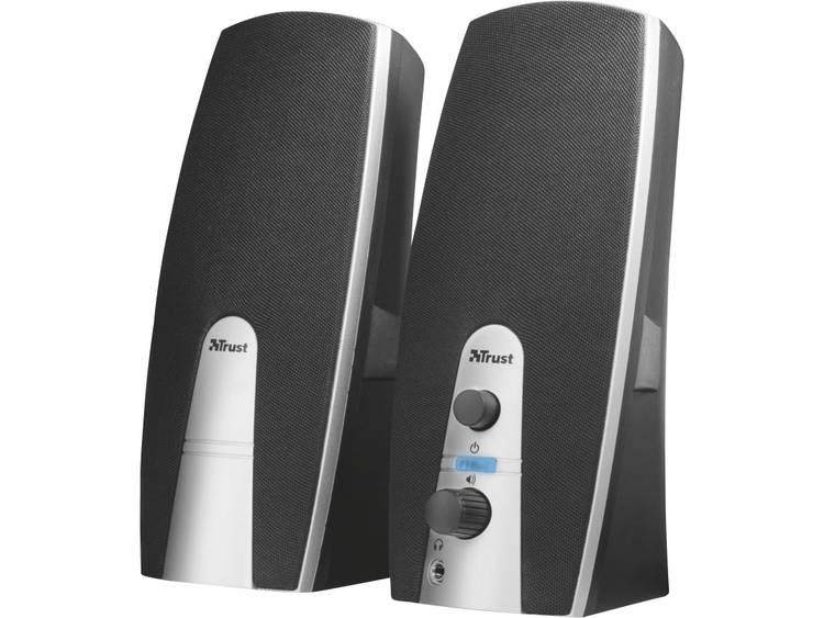 Trust MiLa 2.0 PC-luidsprekers Kabelgebonden 5 W Zwart, Zilver