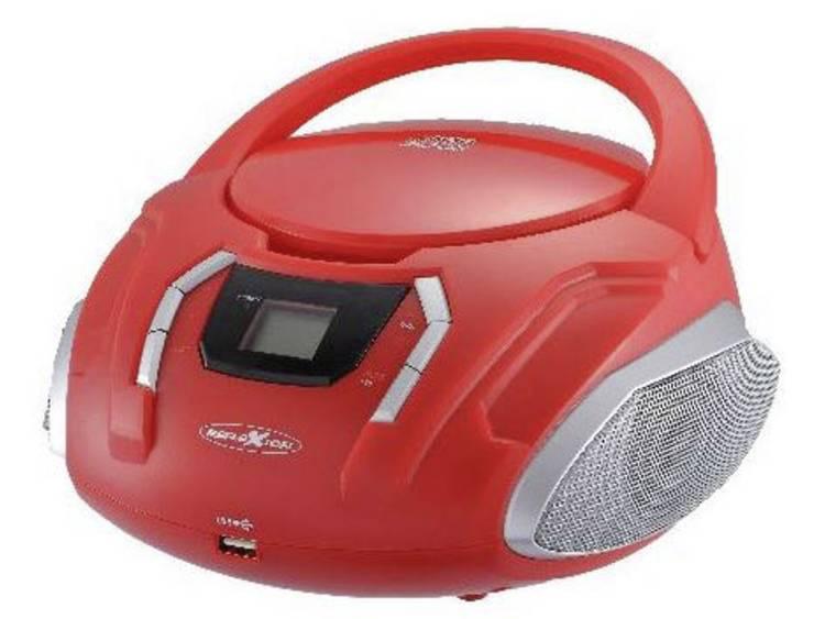 Reflexion CDR225OU FM CD radio AUX CD FM USB Rood