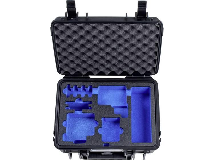 B & W outdoor.cases Typ 1000 1000/B/GoPro5 Outdoorkoffer Geschikt voor: GoPro Hero 5
