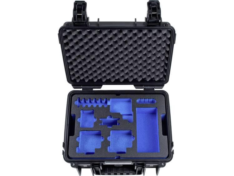 B W outdoor.cases Typ 3000 3000 B GoPro5 Outdoorkoffer Geschikt voor GoPro He