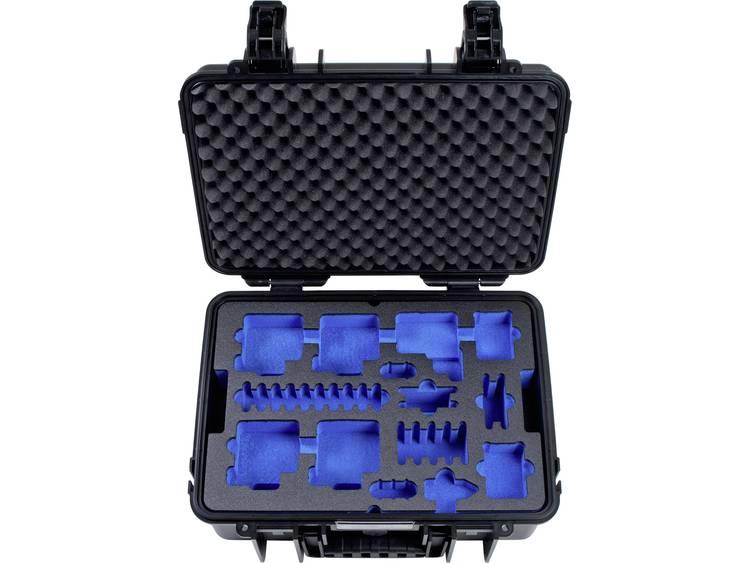 B W outdoor.cases Typ 4000 4000 B GoPro5 Outdoorkoffer Geschikt voor GoPro He