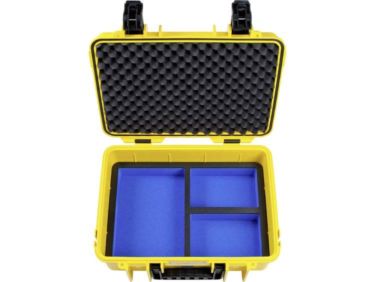 B W outdoor.cases Typ 4000 4000 Y GoPro5 Outdoorkoffer Geschikt voor GoPro He