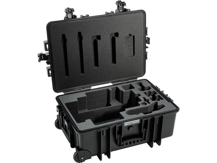 B W outdoor.cases Typ 6700 6700 B RoninM Outdoorkoffer Geschikt voor DJI Roni