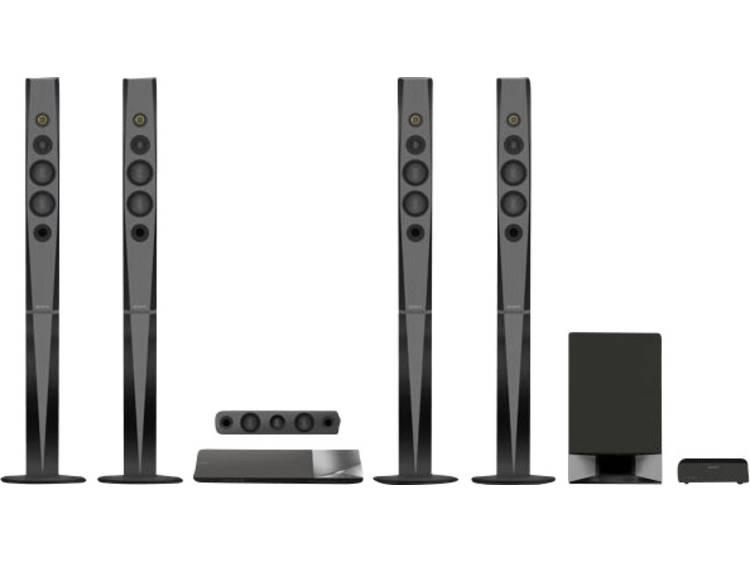 Sony BDV-N9200W 5.1 3D Blu-ray home cinema systeem Zwart Bluetooth, NFC, Smart TV, WiFi