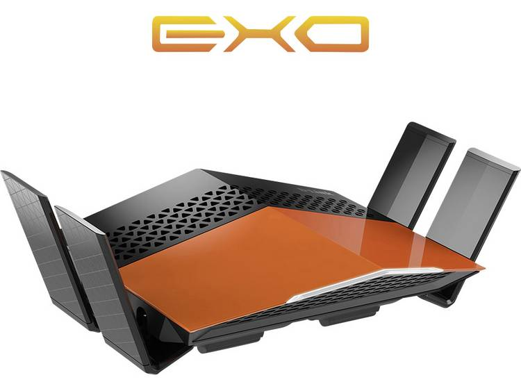 WiFi router D-Link AC1750 EXO Dualband Gigabit Router 2.4 GHz, 5 GHz 1.733 MB/s