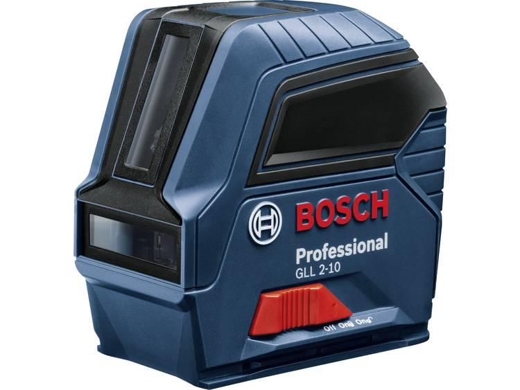 Bosch Professional GLL 2-10 Lijnlaser Zelfnivellerend, Incl. tas Reikwijdte (max.): 10 m kopen