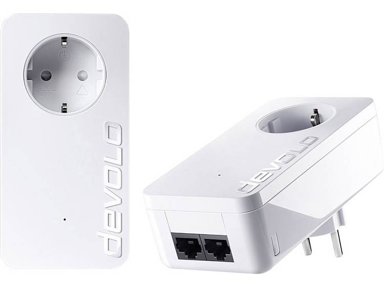Devolo dLAN 1000 duo+ Starter Kit Powerline starterkit 1.000 Mbit/s
