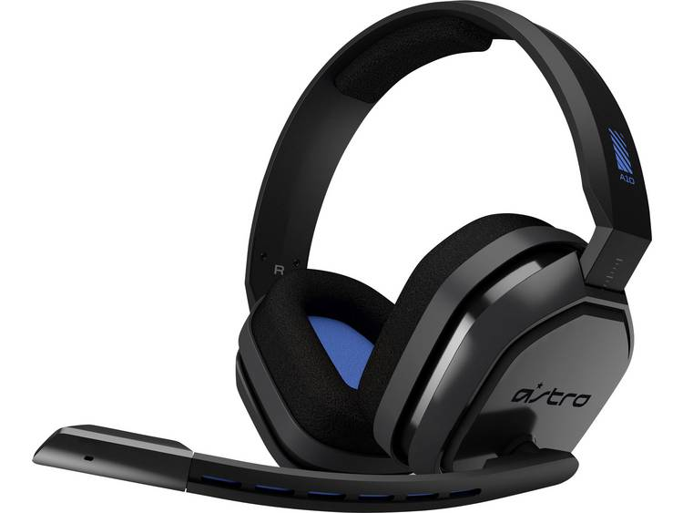 Astro A10 Gaming headset 3.5 mm jackplug Kabelgebonden Over Ear Grijs, Blauw