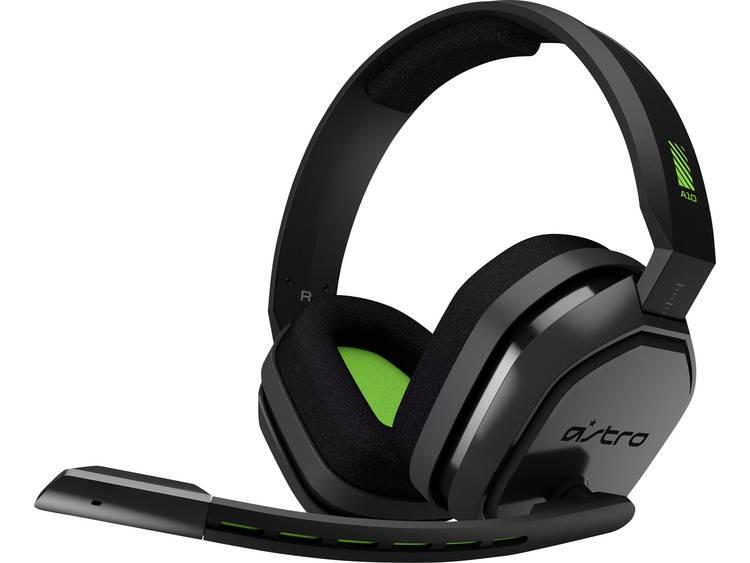 Gaming headset 3.5 mm jackplug Kabelgebonden Astro A10 Over Ear Grijs, Groen