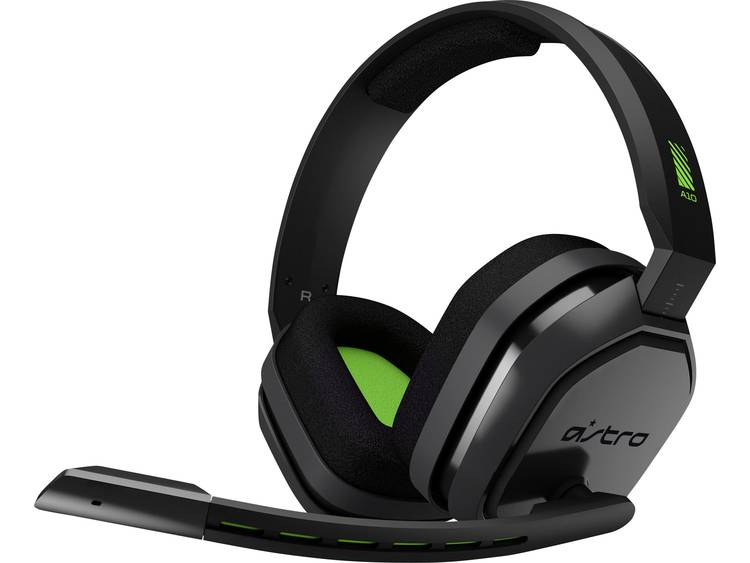 Astro A10 Gaming headset 3.5 mm jackplug Kabelgebonden Over Ear Grijs, Groen