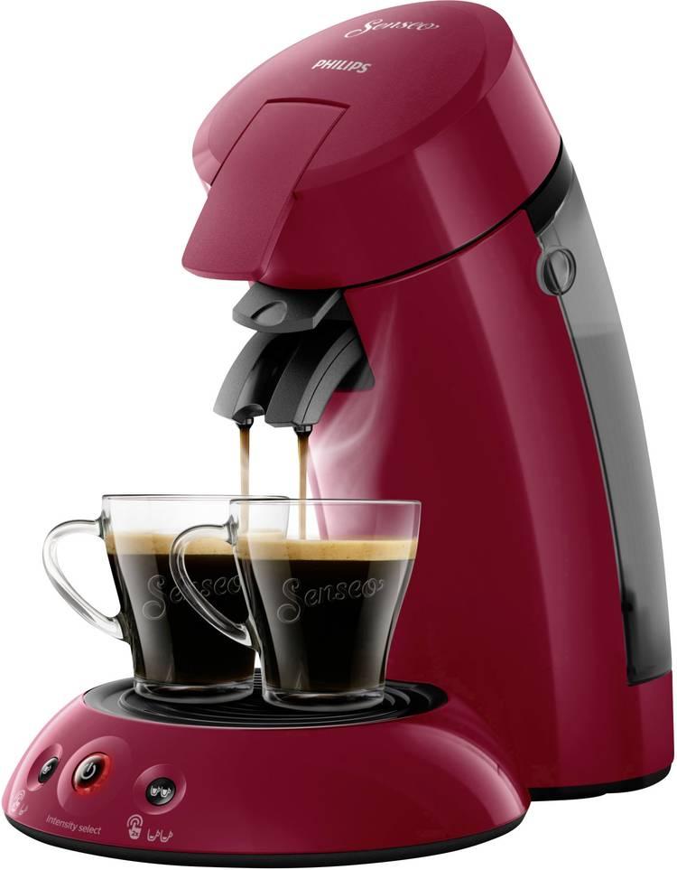 Image of SENSEO HD6554/90 Original HD6554/90 Koffiepadmachine Robijn-rood