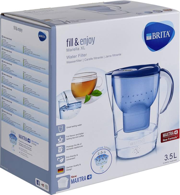 Image of Waterfilter Brita Marella XL MAXTRA+ 076917 3.5 l Blauw