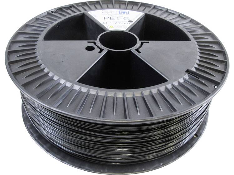 Filament German RepRap 100542 PETG 1.75 mm Zwart 2.1 kg