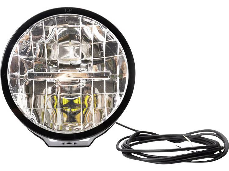 Afstandschijnwerper W116 Hoog vermogen LEDs WAS (Ø x d) 230.5 mm x 130 mm Zwart