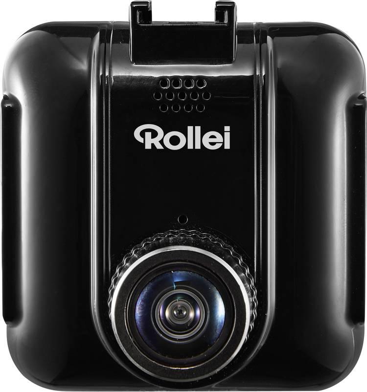 Rollei CAR-DVR-72 Dashcam met GPS Kijkhoek horizontaal (max.): 120  12 V Accu. Microfoon. Display