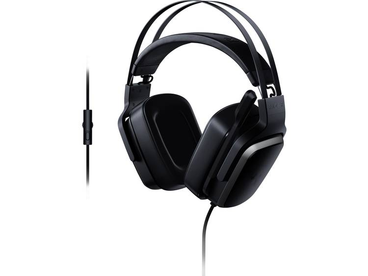 Gaming headset 3.5 mm jackplug Kabelgebonden Razer Tiamat 2.2 V2 Over Ear Zwart