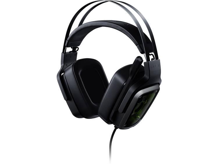 Gaming headset 3.5 mm jackplug, USB Kabelgebonden Razer Tiamat 7.1 V2 Over Ear Zwart