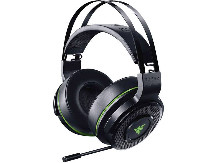 Gaming headset Bluetooth Draadloos Razer Thresher Ultimate Over Ear Zwart, Groen