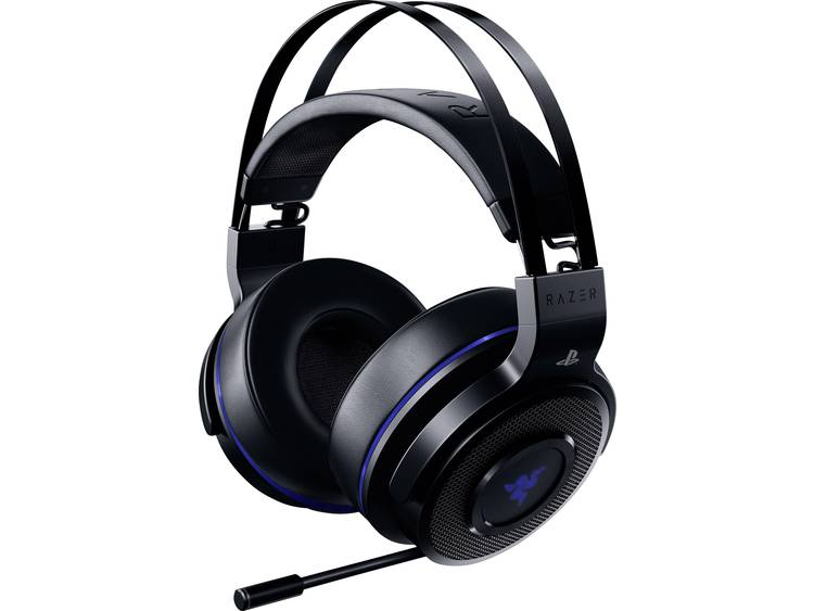 Gaming headset Bluetooth Draadloos Razer Thresher Ultimate Over Ear Zwart, Blauw