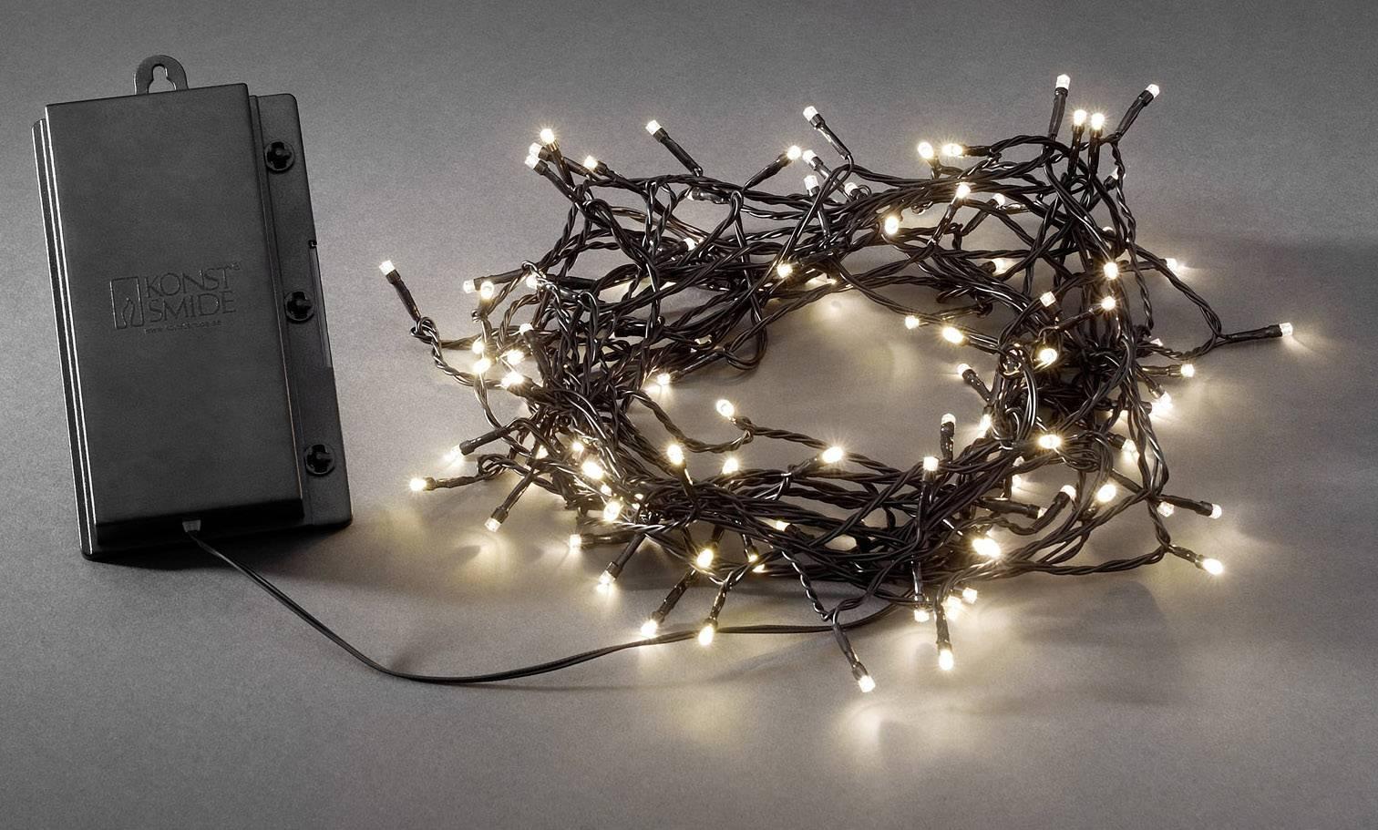 Konstsmide 3733-100 Lichtketting met batterijen Buiten werkt op ...
