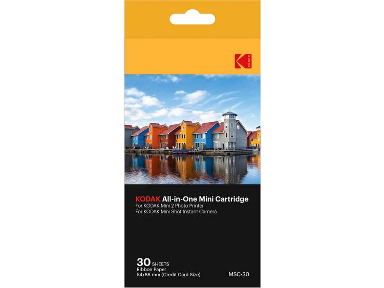 Kodak Mini Printer 2 & Minishot Paper 30 Pack