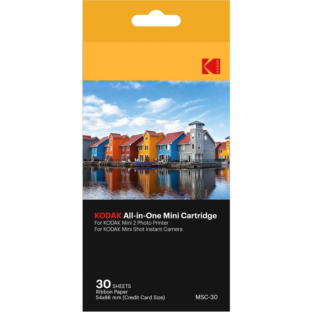 Kodak All-In-One Cartridgeset Voor 30 Foto's