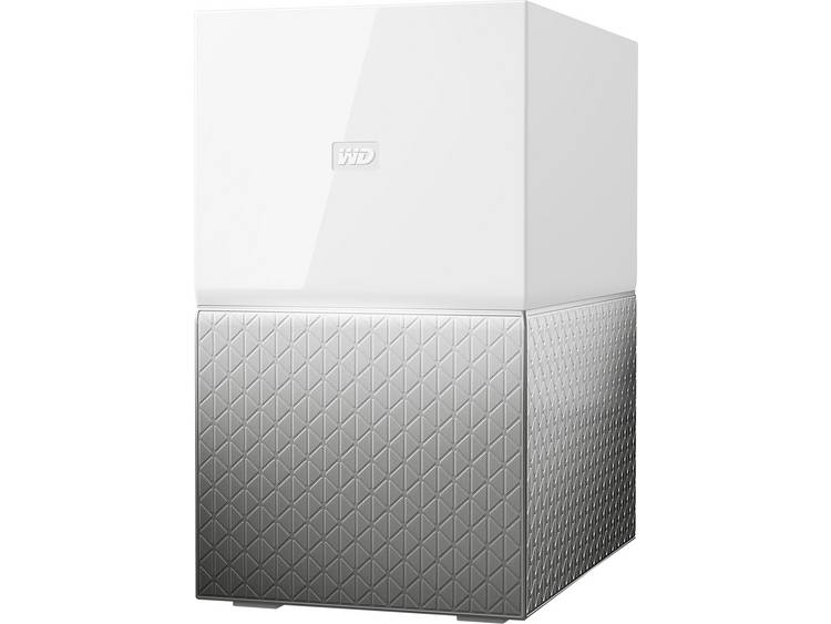 Western Digital My Cloud⢠Home Duo WDBMUT0120JWT-EESN NAS-server 12 TB RAID-geschikt