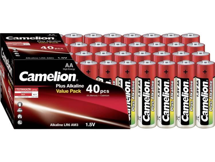 AA batterij (penlite) Camelion Plus LR06 Alkaline 1.5 V 40 stuks