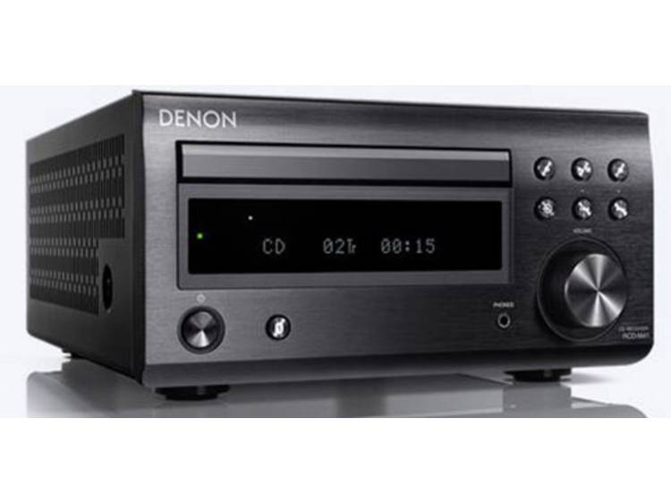 Denon RCD-M41 CD-speler Zwart Bluetooth, DAB+