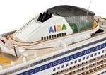 1:400 scheepsmodel Aida bouwpakket