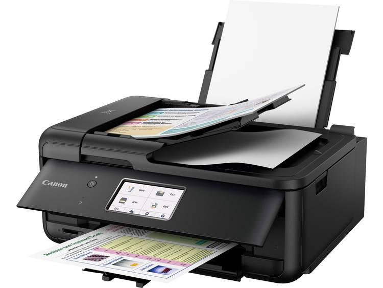 Canon PIXMA TR8550 Multifunctionele inkjetprinter Printen, Scannen, Kopiëren, Faxen LAN, WiFi, Blue