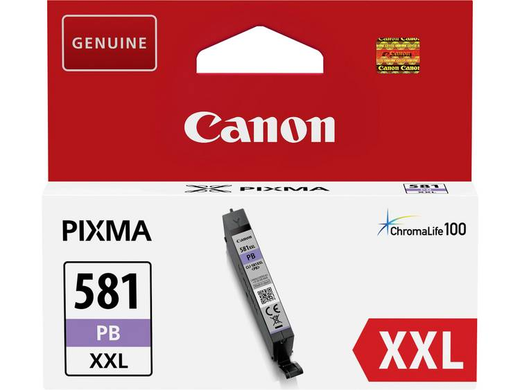 Canon Cartridge CLI 581PB XXL Origineel 1999C001 Cartridge