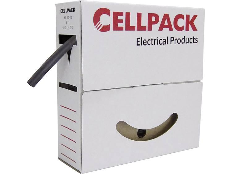 CellPack 144462 Krimpkous zonder lijm Transparant 3 mm Krimpverhouding:3:1 15 m