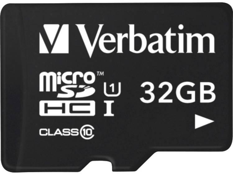 Verbatim Tablet microSDHC-kaart 32 GB Class 10, UHS-I incl. USB-kaartlezer