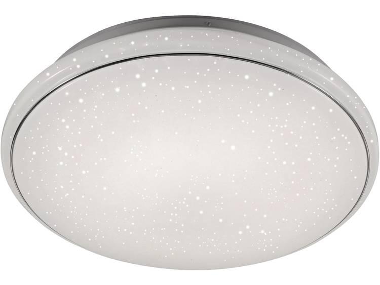 LeuchtenDirekt Jupiter 14367-16 LED-plafondlamp Energielabel: LED 80 W Warm-wit, Neutraal wit, Daglicht-wit Wit