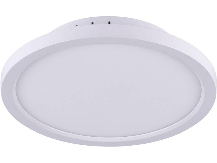 LeuchtenDirekt Flat 15530-16 LED-plafondlamp Energielabel: LED 20 W Warm-wit, Neutraal wit, Daglicht-wit Wit