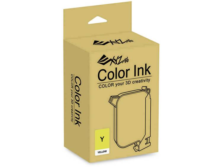 Inkjet inktpatroon XYZprinting R1NKXXY101G Geel