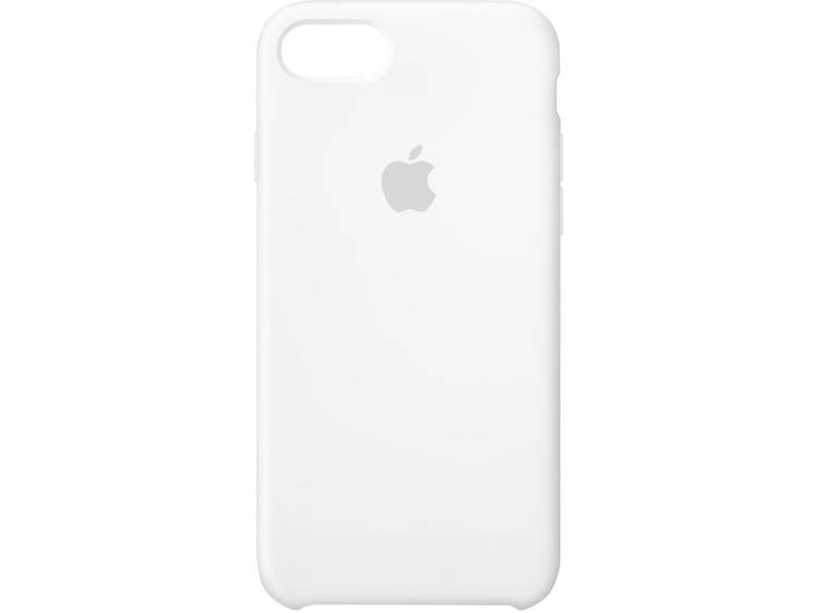Apple Silicone Case iPhone Backcover Geschikt voor model (GSMs): Apple iPhone 8, Apple iPhone 7 Wit