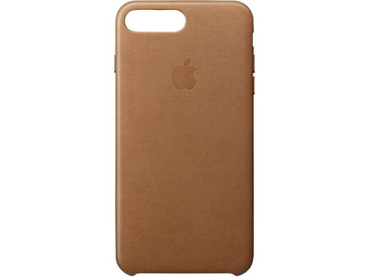 Apple Leather Case iPhone Backcover Geschikt voor model (GSM's): Apple iPhone 7 Plus Zadelbruin